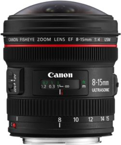 Canon Canon EF 8-15mm f/4L Fisheye USM