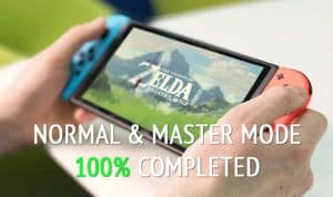 Botw 100 Percent Completed